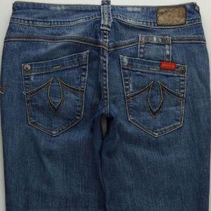 Level 99 Capri Crop Jeans Women's 26 Stretch B081